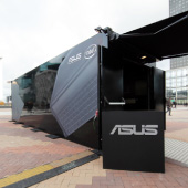 vaudoo asus pop up store container small